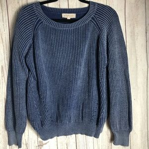 PHILOSOPHY | Blue Sweater Size Large